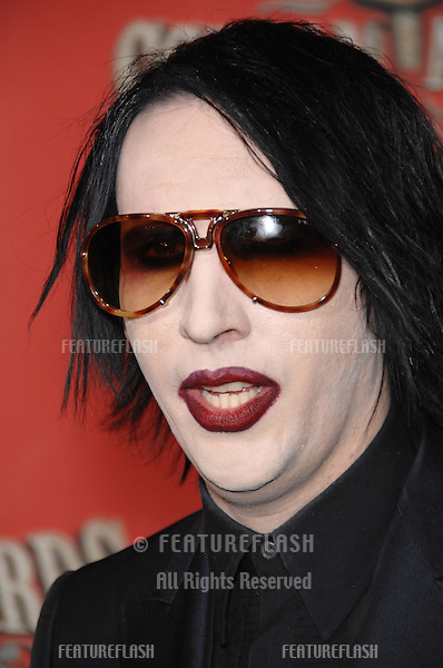 MARILYN MANSON at the Spike TV Scream Awards 2006 at the Pantages Theatre, Hollywood..October 7, 2006  Los Angeles, CA.Picture: Paul Smith / Featureflash