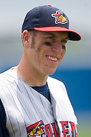 Mike Hessman #27 of the Toledo Mudhens at Harbor Park June 7, 2009 in Norfolk, Virginia. (Photo by Brian Westerholt / Four Seam Images)