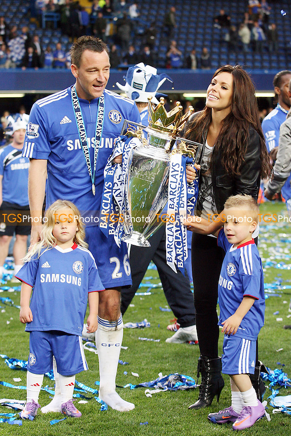 John Terry of Chelsea and hisw ife Toni with their children - Chelsea vs Wigan Athletic 09/05/10 - MANDATORY CREDIT: Dave Simpson/TGSPHOTO - Self billing applies where appropriate - 0845 094 6026 - contact@tgsphoto.co.uk -NO UNPAID USE
