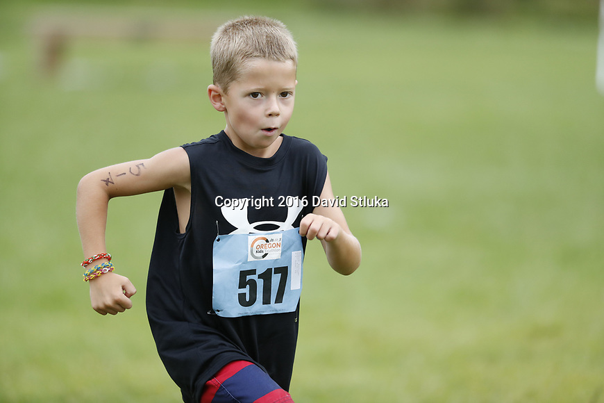 2016 Oregon Kids Triathlon Saturday, August 13, 2016, in Oregon, Wisconsin. (Photo by David Stluka)