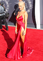LOS ANGELES, CA, USA - AUGUST 24: Rita Ora at the 2014 MTV Video Music Awards held at The Forum on August 24, 2014 in the Los Angeles, California, United States. (Photo by Xavier Collin/Celebrity Monitor)