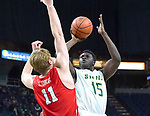 Siena defeats Marist 68-63 in a MAAC game on January 18, 2018 at the Times Union Center in Albany, New York.  (Bob Mayberger/Eclipse Sportswire)