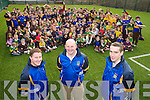 Spa selector Michael McAulliffe with players Conor Gleeson and Aidan Cahill, all teachers at Lissivigeen National School, had the whole school behind them ahead of the Spa All Ireland final in Croke Park on Sunday.