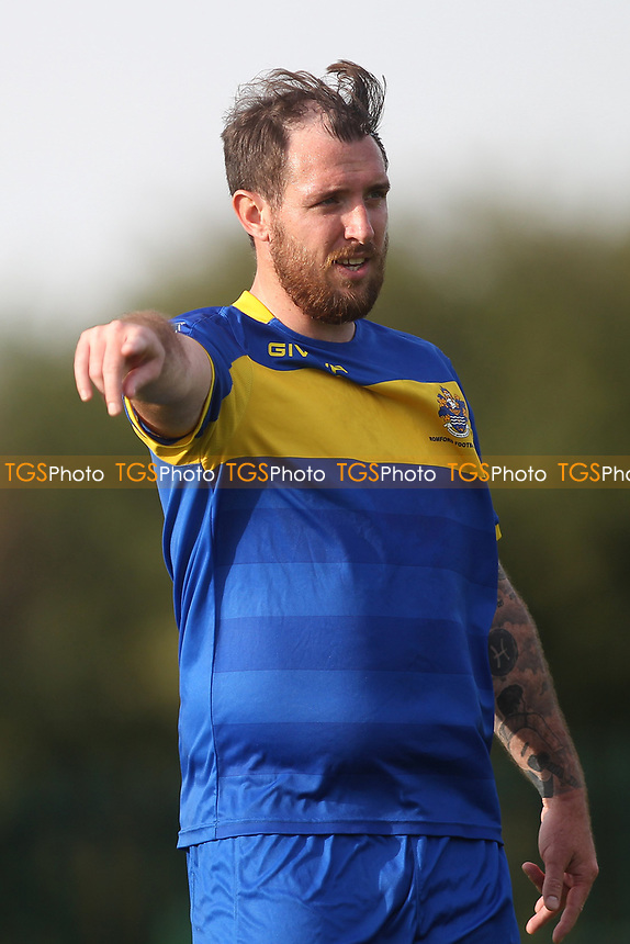 Nick Reynolds of Romford during Romford vs Coggeshall Town, Bostik League Division 1 North Football at Rookery Hill on 13th October 2018