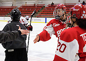 Sarah Appleton (BU - 16) - The Northeastern University Huskies defeated the Boston University Terriers in a shootout after being tied at 4 following overtime in their Beanpot semi-final game on Tuesday, February 2, 2010 at the Bright Hockey Center in Cambridge, Massachusetts.