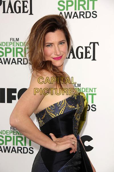 SANTA MONICA, CA - March 01: Kathryn Hahn at the 2014 Film Independent Spirit Awards Arrivals, Santa Monica Beach, Santa Monica,  March 01, 2014. Credit: Janice Ogata/MediaPunch<br /> CAP/MPI/JO<br /> &copy;JO/MPI/Capital Pictures
