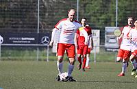Nick Hölzel (Büttelborn) - 07.04.2019: SKV Büttelborn vs. TSV Lengfeld, Gruppenliga Darmstadt