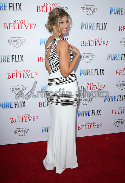 "16 March 2015 - Hollywood, California - Tracy Melchior. ""Do You Believe?"" Los Angeles Premiere held at ArcLight Hollywood. Photo Credit: F. Sadou/AdMedia"