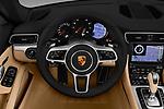 Car pictures of steering wheel view of a 2018 Porsche 911 Carrera 2 Door Convertible Steering Wheel