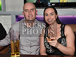 Thomas and Siobhan Naughton enjoying the new years eve celebrations in Barocco at The Westcourt Hotel. Photo:Colin Bell/pressphotos.ie