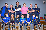 EAGLES: .The North Kerry Eagles who particapated in the Tralee ToGether Special Olympic Games in Cumann Iosaef Gym, Tralee on Saturday. tey were, Jp O'Brien, Rore McNamara, Reackah Keane, Sean White, Dale O'Carroll, Bronagh Enright, Laura Dillane, Seamus McCarthy, William O'Connell, Tom White, Maura Halpin, Brendan O'Sullivan and Breda Enright.