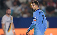 Carson, CA - Saturday August 12, 2017: David Villa during a Major League Soccer (MLS) game between the Los Angeles Galaxy and the New York City FC at StubHub Center.