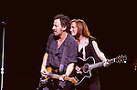 Bruce Springsteen 2002 with Patti Scialfa  'The Rising'  tour in Phoenix