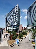 UWV  gebouwen in Amsterdam Sloterdijk