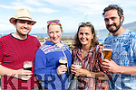 Summer Fun<br /> -----------------<br /> Having a jar at the Brandon Regatta last Sunday, L-R Alvin Baxter, Sib&eacute;al Nicginne&aacute;, Suzan Kels&amp; David Garner.
