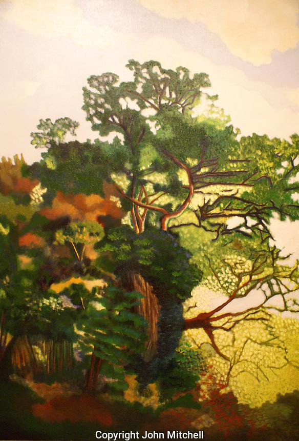 Rocas y Arbustos (1998) by Maria Kahn, Museo de Arte de El Salvador (MARTE), San Salvador, El Salvador