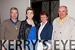 Brendan Tyther, Aine Coleman, Patricia Tyther and Patrick Sheehan at the Laune Rangers Strictly Come Dancing in the CYMS on Saturday night