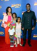Chris Rock and family at the NY premiere of Madagascar 3: Europe's Most Wanted at the Ziegfeld Theatre in New York City. June 7, 2012. © RW/MediaPunch Inc. NORTEPHOTO.COM