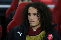 Matteo Guendouzi of Arsenal was named as a substitute during Arsenal vs Rennes, UEFA Europa League Football at the Emirates Stadium on 14th March 2019