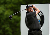 24.05.2015. Wentworth, England. BMW PGA Golf Championship. Final Round.  Shane Lowry [IRE] Tee shot 3rd hole during the final round of the 2015 BMW PGA Championship from The West Course Wentworth Golf Club