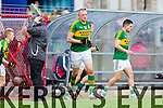Kieran Donaghy Kerry in action against  Cork in the National Football League at Pairc Ui Rinn, Cork on Sunday.