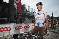 77th Flèche Wallonne 2013..Matteo Montaguti (ITA)