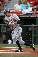 Richmond Braves Wes Timmons during an International League game at Dunn Tire Park on April 21, 2006 in Buffalo, New York.  (Mike Janes/Four Seam Images)