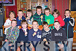 Talented footballers who received medals at the Castleisland Desmonds awards night in the River Island Hotel on Sunday night front row l-r: Ben Cooney. Dylan Brosnan, Adam O'Donoghue, Conor O'Sullivan, Danny Hickey. Back row: Jack Reidy, Tommy O'Regan, Kevin Keane, Luka Brosnan, Kevin Mahony, Padraig Browne and Ryan Daly