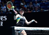 29th January 2020; Melbourne Park, Melbourne, Victoria, Australia; Australian Open Tennis, Day 10; Anastasia Pavlyuchenkova of Russia during her match against Garbine Muguruza of Spain