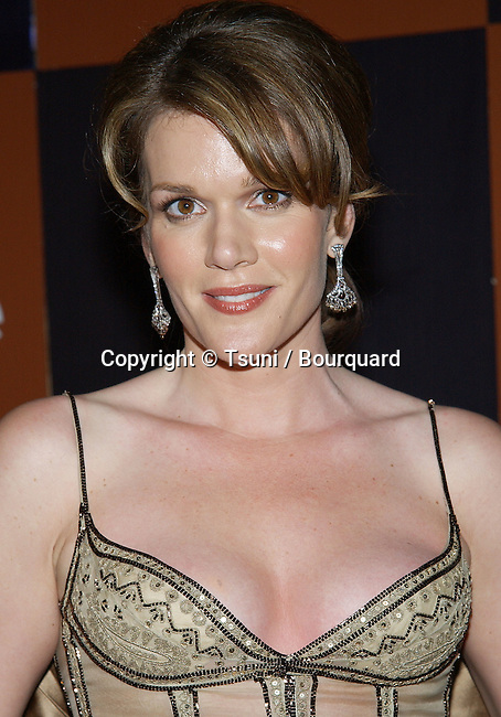 """Catherine Dent (The Shield) arriving at the Golden Globes Awards,""""In Style After Party""""  at the Beverly Hilton Hotel in Los Angeles. January 19, 2003."""