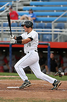 September 6 2008:  Shortstop Joel Staples of the Jamestown Jammers, Class-A affiliate of the Florida Marlins, during a game at Russell Diethrick Park in Jamestown, NY.  Photo by:  Mike Janes/Four Seam Images