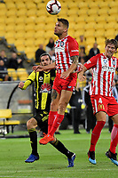 Melbourne City&rsquo;s Bart Schenkeveld in action during the A League - Wellington Phoenix v Melbourne City FC at Westpac Stadium, Wellington, New Zealand on Saturday 26 January 2019. <br /> Photo by Masanori Udagawa. <br /> www.photowellington.photoshelter.com