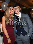 Evan McConnon and Louise Quirke at The Newtown Blues dinner dance in the Westcourt Hotel. Photo:Colin Bell/pressphotos.ie