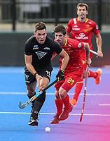 Jacob Smith during the Pro League Hockey match between the Blacksticks men and the Spain, Nga Punawai, Christchurch, New Zealand, Sunday 16 February 2020. Photo: Simon Watts/www.bwmedia.co.nz