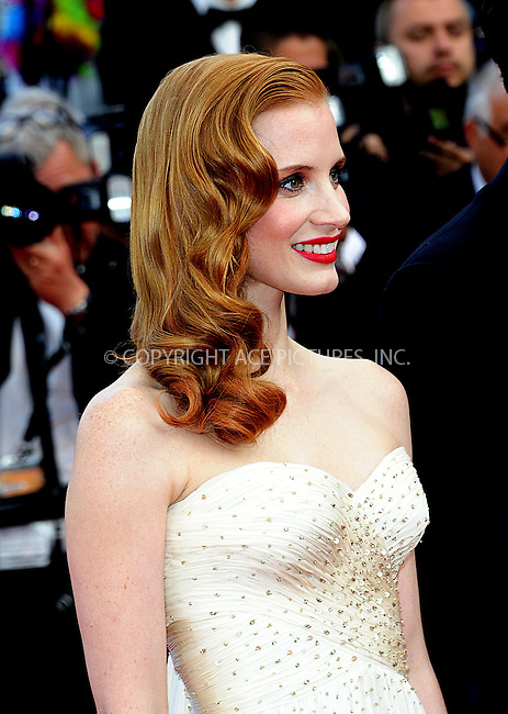 "WWW.ACEPIXS.COM . . . . .  ..... . . . . US SALES ONLY . . . . .....May 18 2012, Cannes....Jessica Chastain at the premiere of ""Madagascar 3: Europe's Most Wanted"" at the Cannes Film Festival on May 18 2012 in France -....Please byline: FAMOUS-ACE PICTURES... . . . .  ....Ace Pictures, Inc:  ..Tel: (212) 243-8787..e-mail: info@acepixs.com..web: http://www.acepixs.com"