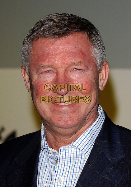 SIR ALEX FERGUSON.Attending the Nike Joga Bonito Launch Party, The Truman Brewery,  Brick Lane, London, England,.7th February 2006..portrait headshot.Ref: BEL.www.capitalpictures.com.sales@capitalpictures.com.©Tom Belcher/Capital Pictures.