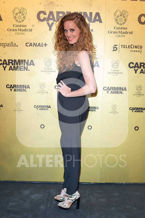 "Spanish actress Maria Castro attend the Premiere of the movie ""Carmina y Amen"" at the Callao Cinema in Madrid, Spain. April 28, 2014. (ALTERPHOTOS/Carlos Dafonte)"