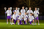 The 2019 University of Washington men's lacrosse team on January 31, 2019. (Photography by Scott Eklund/Red Box Pictures)
