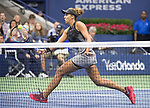 September  6, 2017:  Madison Keys (USA) defeated Kala Kanepi  6-3, 6-3 at the US Open being played at Billy Jean King Ntional Tennis Center in Flushing, Queens, New York. Leslie Billman/EQ