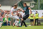 20.07.2018, Parkstadion, Zell am Ziller, AUT, FSP, 1.FBL, SV Werder Bremen (GER) vs 1. FC Koeln (GER)<br /> <br /> im Bild<br /> Rafael Czichos (Neuzugang Koeln #05) im Duell / im Zweikampf mit Max Kruse (Werder Bremen #10) mit mit Kapitänsbinde, <br /> <br /> Foto © nordphoto / Ewert