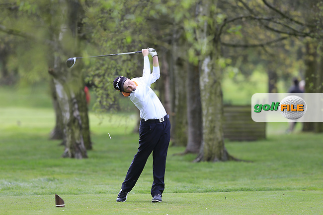 Aaron Edwards Hill (Chelmsford Golf Club) during the final round of the Peter McEvoy Trophy, Copt Heath Golf Club, Knowle, Solihull, England. 13/04/2017.<br /> Picture: Golffile | Fran Caffrey<br /> <br /> <br /> All photo usage must carry mandatory copyright credit (&copy; Golffile | Fran Caffrey)