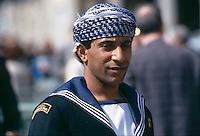 marinaio del veliero Shabab dell'Oman