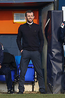 Nathan Jones (Manager) of Luton Town looks on during the Sky Bet League 2 match between Luton Town and Crawley Town at Kenilworth Road, Luton, England on 12 March 2016. Photo by David Horn/PRiME Media Images.