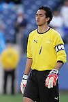 20 March 2008: Ricardo Jerez (GUA) (1). The Honduras U-23 Men's National Team defeated the Guatemala U-23 Men's National Team 6-5 on penalty kicks after a 0-0 overtime tie at LP Field in Nashville,TN in a semifinal game during the 2008 CONCACAF Men's Olympic Qualifying Tournament. With the penalty kick victory, Honduras qualifies for the 2008 Beijing Olympics.