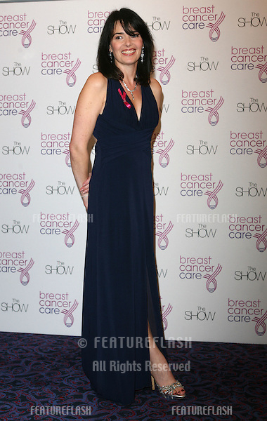 Beverley Craven arriving at  The Breast Cancer Care 2009 Fashion Show at Grosvenor House Hotel, London. 07/10/2009   Picture by: Alexandra Glen / Featureflash