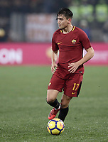 Calcio, Serie A: AS Roma - Sampdoria, Roma, stadio Olimpico, 28 gennaio 2018.<br /> Roma's Cengiz Under in action during the Italian Serie A football match between AS Roma and Sampdoria at Rome's Olympic stadium, January 28, 2018.<br /> UPDATE IMAGES PRESS/Isabella Bonotto
