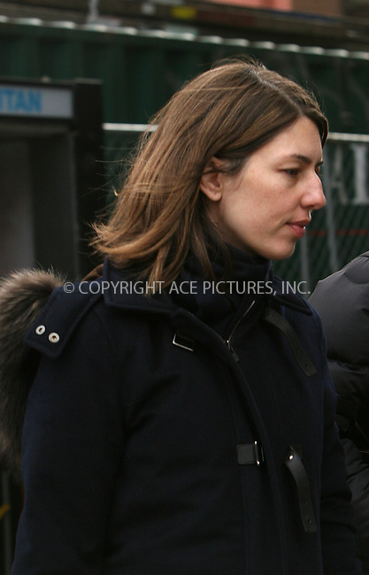 WWW.ACEPIXS.COM ************....March 5 2010, New York City....Director Sophia Coppola, who is prgnant with her second child, out in Midtown Manhattan on March 5 2010 in New York City....Please byline: Nancy Rivera -- ACEPIXS.COM.. *** ***  ..Ace Pictures, Inc:  ..tel: (646) 769 0430..e-mail: info@acepixs.com..web: http://www.acepixs.com