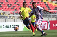 Futbol 2019 Sudamericano Sub 20 Ecuador vs Paraguay
