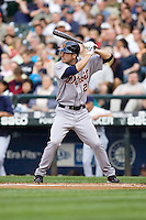July 5, 2008:  The Detroit Tigers' Matt Joyce at-bat during a game against the Seattle Mariners at Safeco Field in Seattle, Washington.