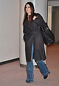Actress Sandra Bullock arrives in Japan